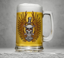 Skull & Wrenches Beer Stein
