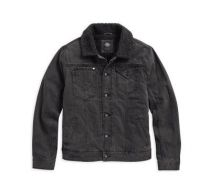 SHERPA FLEECE COLLAR DENIM JKT