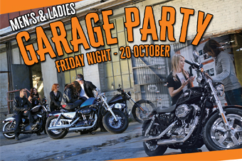 Garage Party with a Twist - 20 October 2017