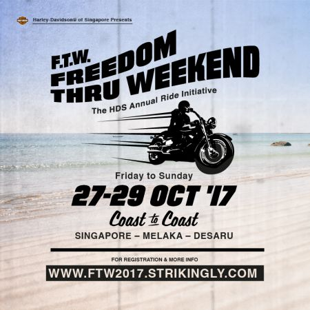 F.T.W. 2017 Freedom Thru Weekend