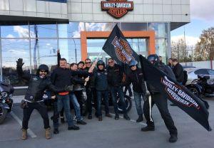Закрытие сезона Harley-Davidson Новосибирск