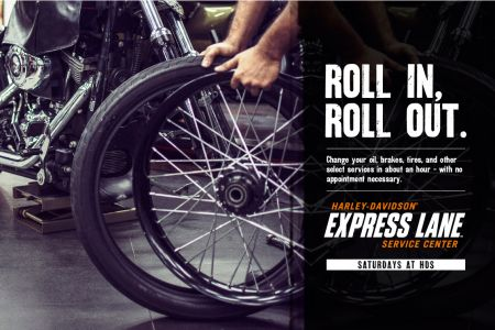 Harley-Davidson® of Singapore Express Lane Service