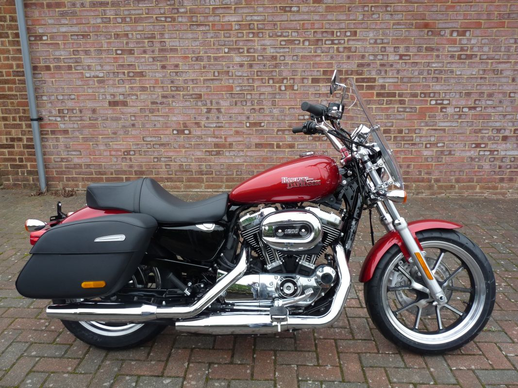 new xl1200t sportster superlow 2018 in wicked red shaw harley davidson. Black Bedroom Furniture Sets. Home Design Ideas