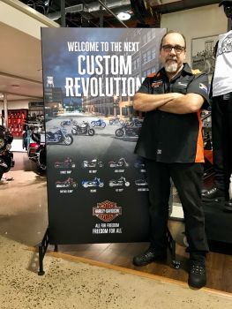 Trevor De Jager: The first EVER South African Harley-Davidson® Instructor!