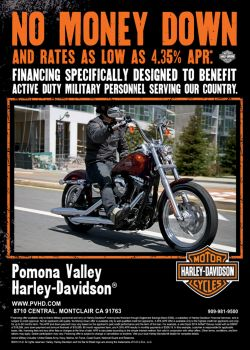 SPECIAL FINANCING FOR ACTIVE DUTY MILITARY!