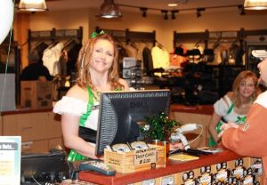 st. patrick's day party 3/17/2012