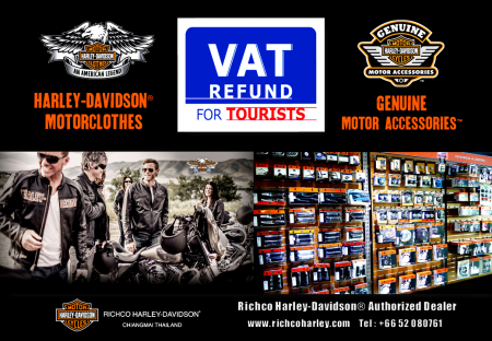 VAT REFUND FOR TOURISTS
