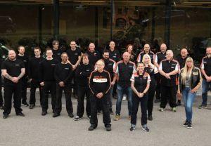 Staben til Harley-Davidson Oslo