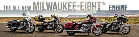 Harley-Davidson introduces Milwaukee-Eight Engine