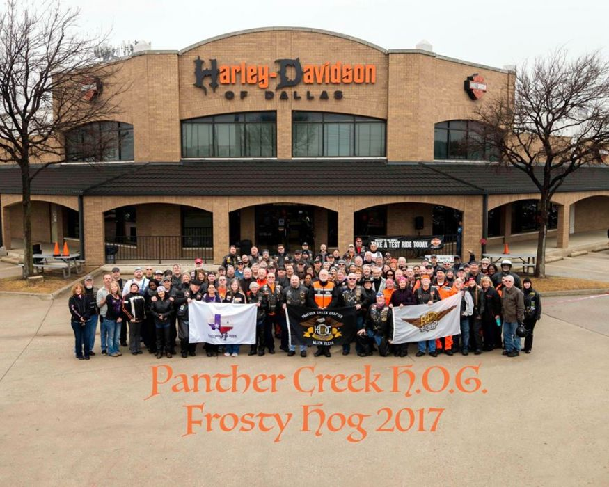 Frosty HOG Ride - January 2017