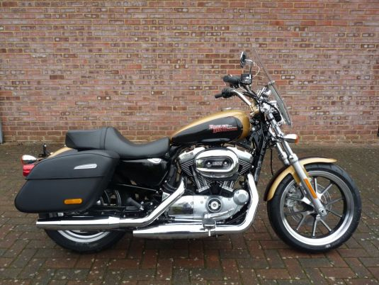 NEW XL1200T Sportster Superlow 1200 2017 Black and Gold