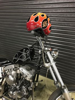 レトロフレーム3/4ヘルメット SNSキャンペーン!!