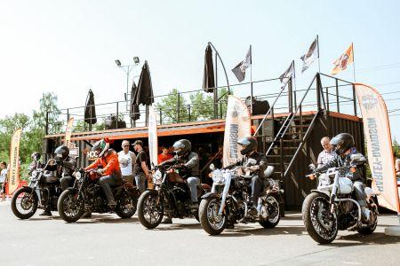 Harley Tour 2017 в Красноярске