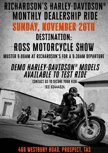 November Dealership Ride