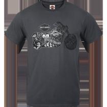 Mens Marker H-D Motorcycle Pocket T-Shirt