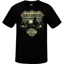 Men's Been There Riders with B&S Black T-Shirt