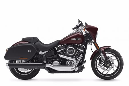 THE NEW HARLEY-DAVIDSON SPORT GLIDE – HANDLING AGILITY MEETS LONG HAUL ABILITY