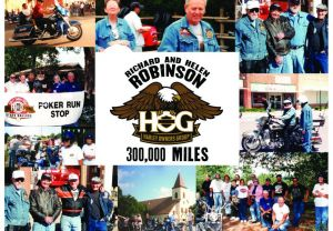 Congratulations Richard & Helen Robinson on recording 300,000 miles
