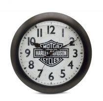 Best Seller Bar & Shield Logo Silent Clock