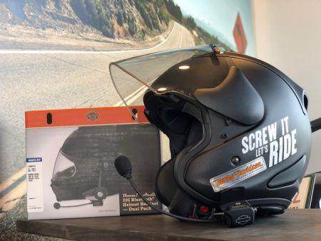 H-D純正ブルートゥースヘルメットヘッドセットが店頭で体験できます!