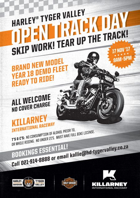 Open Track Day at Killarney!