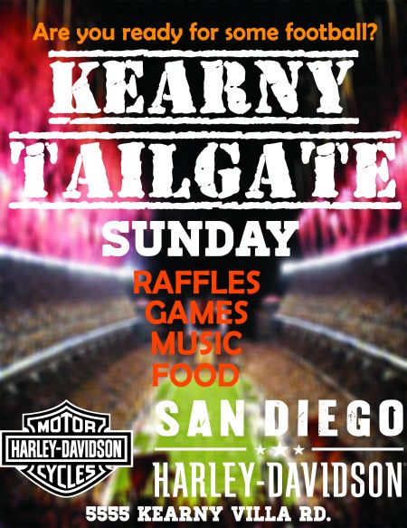 Tailgate Party at Kearny