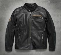 115TH ANNIVERSARY MENS LEATHER JACKET