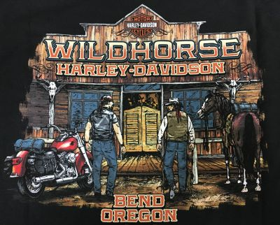 WILDHORSE H-D SALOON T-SHIRT BACK