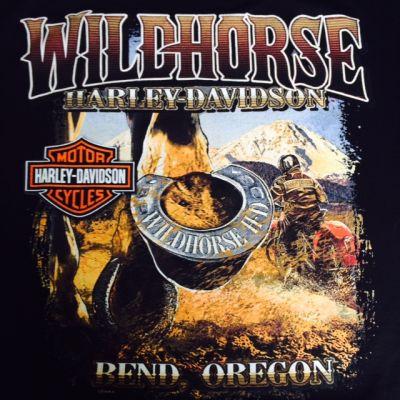 WILDHORSE H-D HORSE HOVE T SHIRT