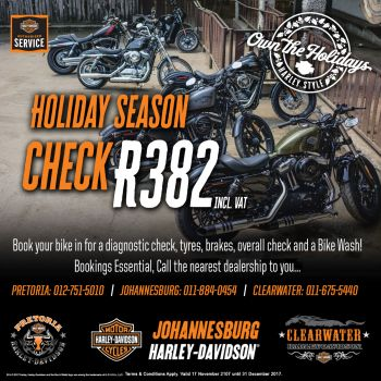 Holiday Season - Motorcycle Check Promotion