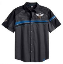 Harley-Davidson® Men's 115th Anniversary Performance Vented Shirt 99016-18VM