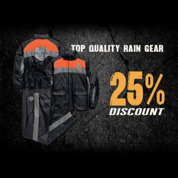 Rain Gear Promotion