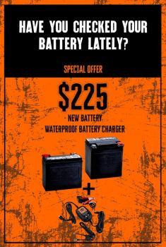 HAVE YOU CHECKED YOUR BATTERY LATELY?