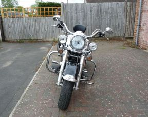 2007 FLHRC Touring Road King Classic 56 plate Vance and Hines Slip ons