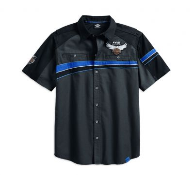 115th ANNIVERSARY PERFORMANCE VENTED CHEST STRIPE SHIRT