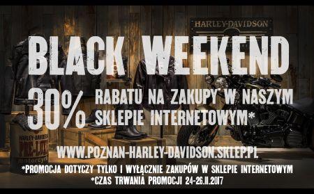 BLACK WEEKEND 24-26.11.2017 - 30% RABATU W SKLEPIE INTERNETOWYM