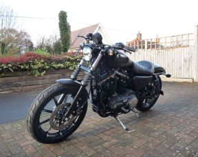 NEW XL883N Sportster Iron 2018 Denim Black Fully Loaded £1,500 worth of extras