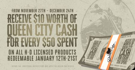 Queen City Cash Begins!
