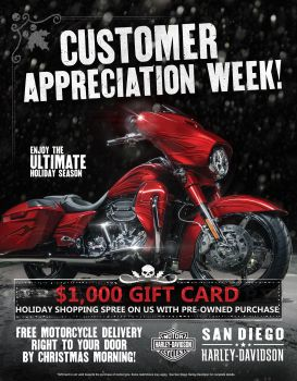 Customer Appreciation Week!