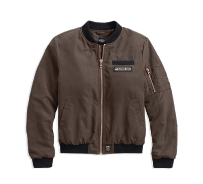 JKT-BL,OUT,BOMBER,ZIPPED,BROWN