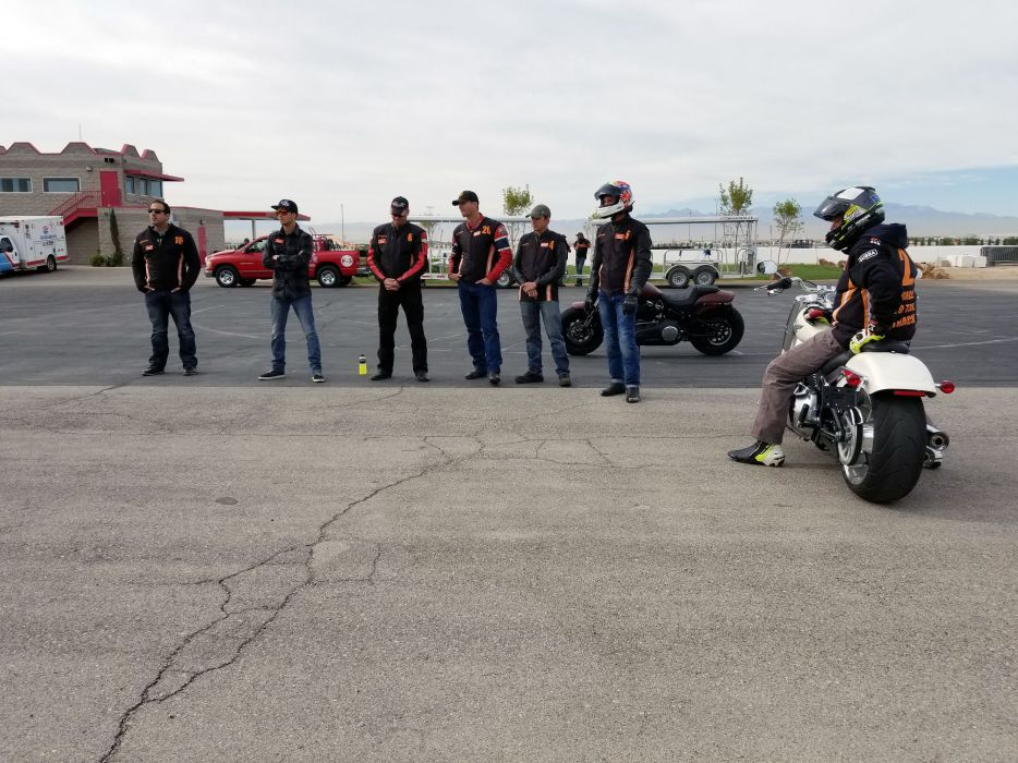 All of the coaching staff was made up of professional motorcycle racers from different backgrounds and circuits.