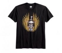 SKULL & WRENCHES V-NECK TEE