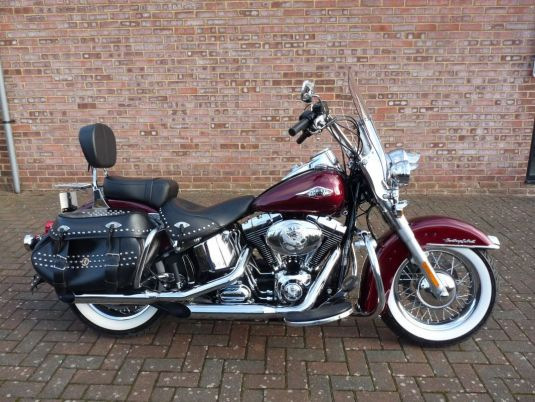 2014 FLSTC Heritage Softail Classic Full Stage One