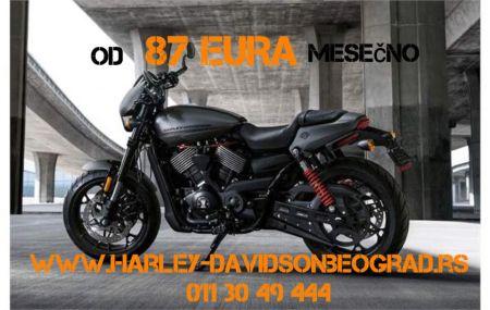 Harley na kredit - rata od 87 EURA!