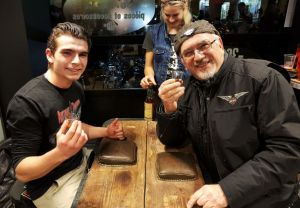 Soirée des 30 ans de la concession ATS Harley-Davidson Paris Bastille avec Sailor Jerry
