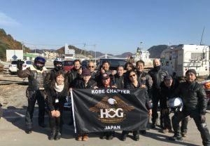 2017.12.3 神戸チャプター走り納め日生かきおこツーリング
