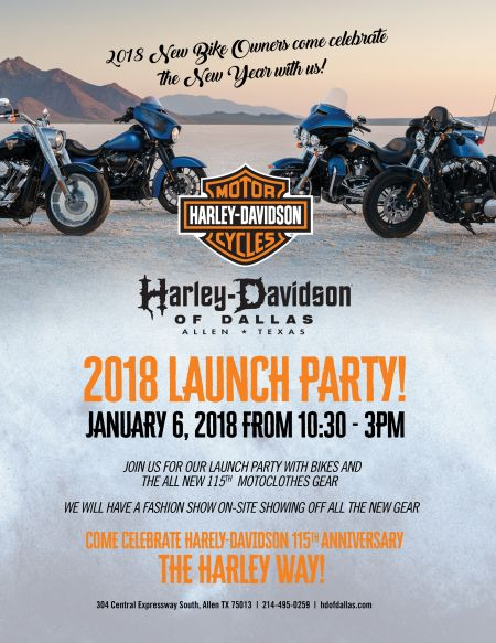 2018 New Years Launch Party