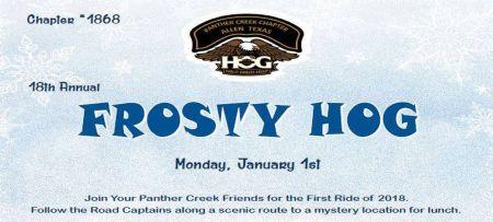 18th Annual Frosty HOG Ride