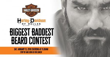 Harley-Davidson Biggest Baddest Beard Contest
