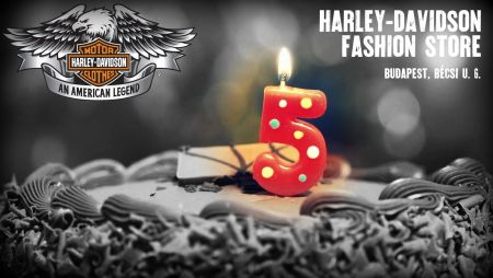 5 éves a Harley-Davidson Fashion Store - Ünnepelj velünk!